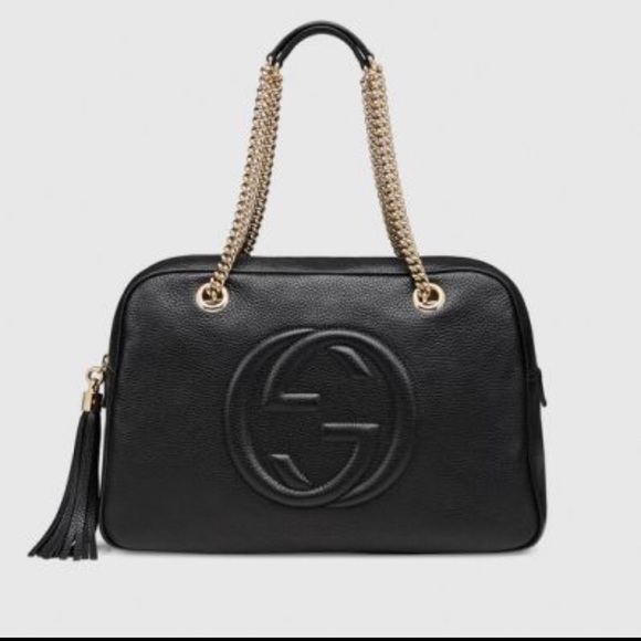 e53bb5e43009 Gucci Bags | Soho Leather Shoulder Bag | Poshmark